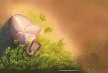 Prins Eduardus Edje / #Illustration, #bcb, #Christelijke Kinderboekenmaand 2015, #actieboek #Illustraties, #artwork, #BramKasse #micheldeboer #leontinegaasenbeek #prentenboek #spelen #ipad #zintuigen #ontdekken