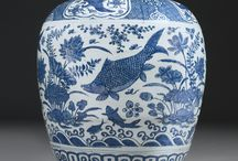 Blue and White Dynasty Ginger Jars