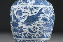 Blue and White Dynasty Ginger Jars