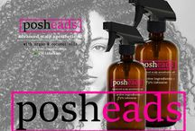 Posheads / Advance Anesthetic Scalp Oil with Argan & Coconut Oils  Advanced One of a Kind Anesthetic Scalp Oil!   Posheads is a scalp numbing treatment to put a STOP to tender headedness!  We can have our hair pulled and pulled again during our hair salon visits without the PAIN!   No Pain!  While also conditioning your scalp and promoting hair growth for healthy long gorgeous hair.