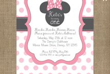 Minnie Mouse party ideas / by Tina Hussey