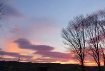 Cielos y paisajes / Estamos en un lugar tan especial que a veces nos regala estos cielos y paisajes