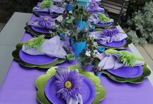 Get Ready~Get Set Up~Celebrate! / Fantastic party & decorating ideas! / by Chrystal