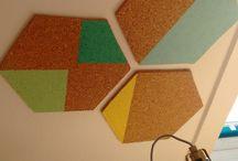 cork hexagon