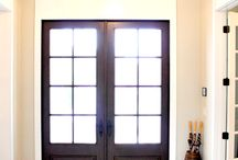 Front door / Ideas for the front door, inside and out. / by Charissa Knouff