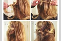 hairstyles / by Chasity Comeaux