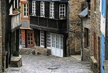 Brittany, France - Cotes d'Armor, Finistere, Ille et Vilaine and Morbihan / The Brittany region of France which includes the Cotes d'Armor, Finistere, Ille et Vilaine and Morbihan departments.