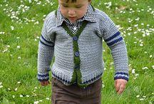 örgü erkek çocuk kıyafetleri