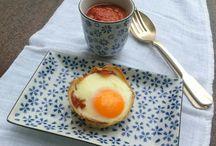 Patatas, Huevos y Jamón