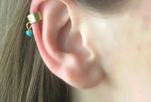 Ear Cuffs, Ear Wraps, Ear Climbers / Ear Cuffs