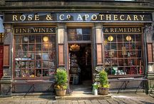 apothecary / jars, herbs, decor...