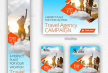 Travel Agency Banners and Ads