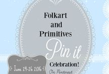 Summer Pin-It Celebration / A collections of pins of the wonderful decor items created by the artisans of the FolkArt and Primitives team on Etsy.