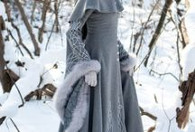 Lyanna grey dress