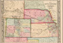 Kansas Antique Maps / Antique maps of Kansas show the dramatic changes in the states geographical and political situation over time. Vintage maps of Kansas often show the growth of railroads, counties and cities in The State of Kansas. Old maps of Kansas, including antique maps of Kansas City, Topeka and Wichita can be found here.