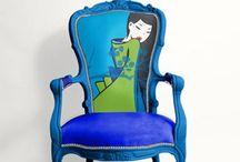 chaires / Dekorative stoler