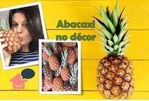 Abacaxi no décor