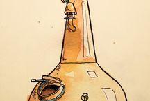 South West Distillery Guide Branding