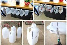 Reduce, Reuse, Recycle / Things to make & do with used items.