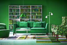 Clipe pline de culoare  / Câteodată fericirea se află în camerele colorate / by IKEA Romania