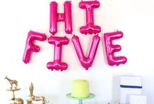 Twins turn 5 party ideas
