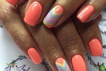 Яркие ногти