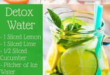 Detox / Detox water, meals , nutrition, lifestyle
