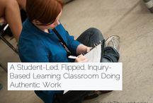 Student-Led Inquiry-Based