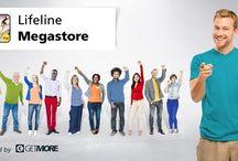 Kauf Online / ich empfehle dir Lifeline Megastore - das ist mein eigener Onlineshop bei GETMORE. Mit meinem Onlineshop sparst du bis zu 75% in über 600 Partnershops mit Millionen von Produkten und erhältst zusätzlich bei jedem Einkauf eine fantastische Abschlussprämie!