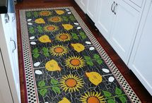floor cloths / by Diana West