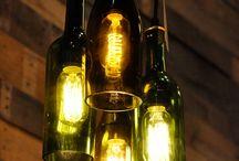 Lámparas De Botellas