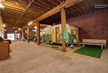 Inspirations intérieurs / Industriel, garage, loft, greniers...