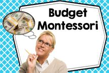 Budget Montessori / Ways to save on Montessori at home education for Pre K and K and homeschool