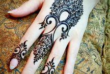 Fake tattoo hand