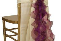 dekoracje. krzeseł