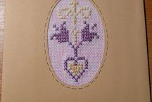 easter cross stitch - húsvéti keresztszemes