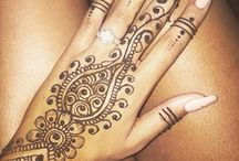Henna / mendhi patterns