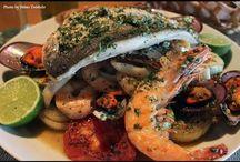 RECEITAS  : Peixe e Frutos do Mar