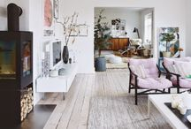 Places I want to call home / Interior design