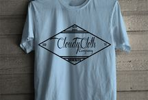 Original / Kaos atau Baju asli tulisan Clody Cloth dengan berbagai motif gambar yg lebih fresh