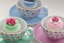 Cupcakes in cup