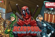 Deadpool Pinball! / Voiced by Nolan North, the one and only Merc with a Mouth, Deadpool, is getting his very own pinball table! Available on Steam, XBLA, PSN, Android, iOS, Amazon and Mac starting the week of June 24th!