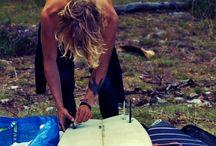 Surfing dandy