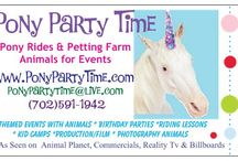 Pony Party Time Contact Information