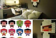 Kreatívságok / Kreatív, szellemes dolgocskák, elsősorban lakásba dekor.