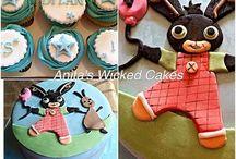 Bing children's birthday cake