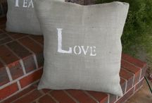 Throw Pillows / by knot too shabby