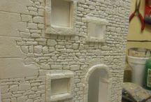 köpük ve seramik ev yapımı