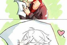Adrien x Nathaniel