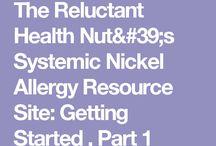 Diets for Dermatitis (nickel, etc.)